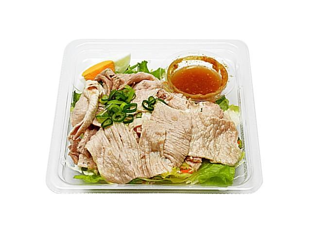 痩せる 食べ物 コンビニ 豚しゃぶサラダ