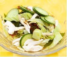 痩せる 食べ物 ランキング ササミ海藻サラダ
