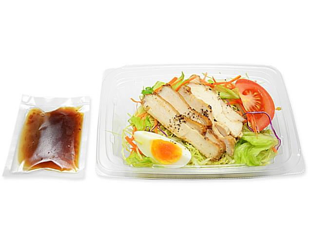 痩せる 食事 コンビニ グリルチキンのパスタサラダ