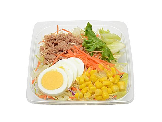痩せる 食事 コンビニ ツナと玉子のサラダ