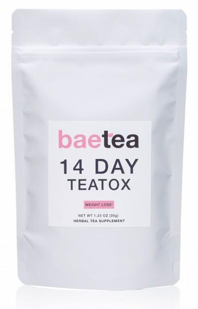痩る お茶 口コミ アメリカ baetea 14 DAY TEATOX